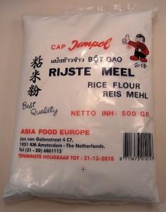 Rizsliszt a gluténmentes liszt alternatíva