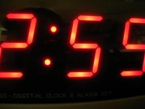 Digitális asztali óra