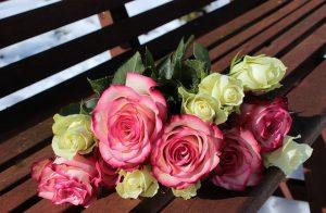 Rózsacsokrok